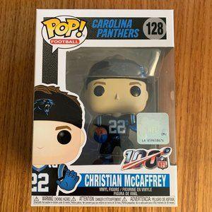 Christian McCaffrey #128 Funko Pop Panthers NFL
